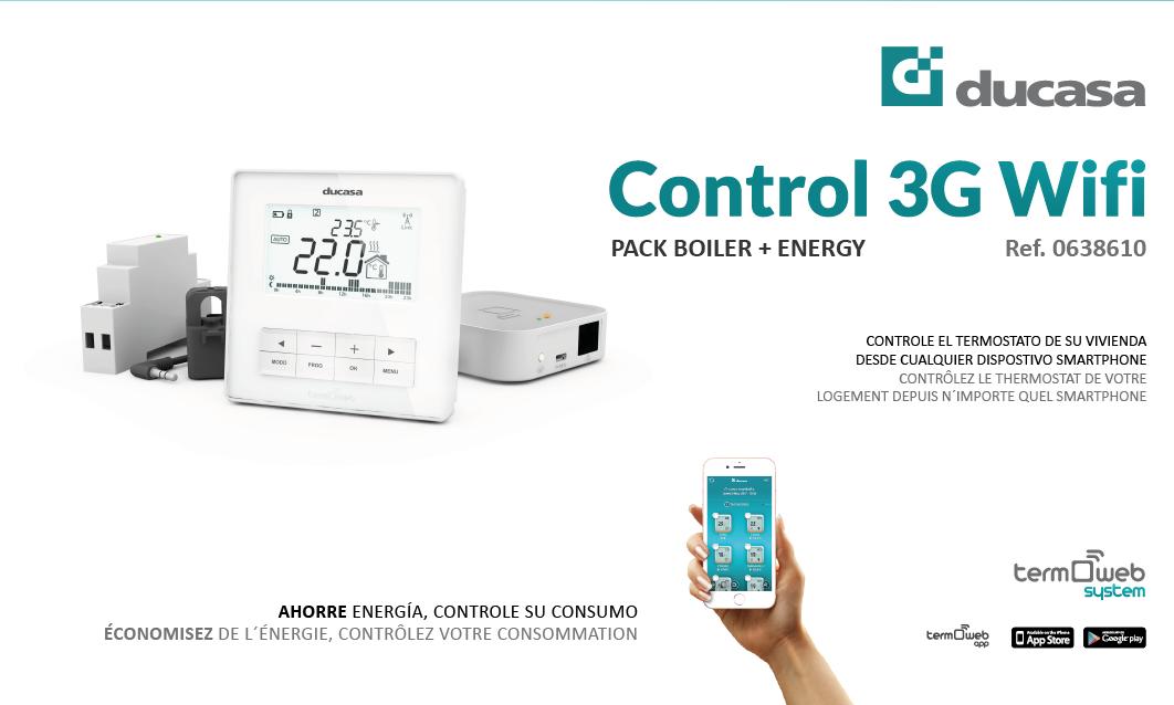 Boiler + Energy Kit - DUCASA. Domótica para el hogar. Calefacción ...