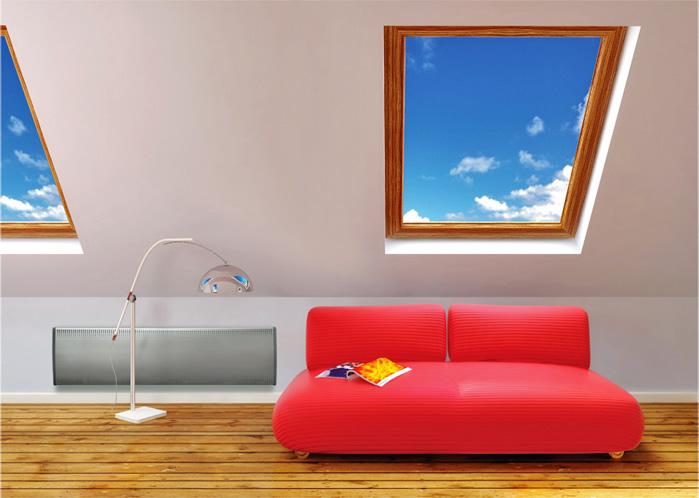 Inox convectores bajo ventana para la calefacci n del for Convector mural