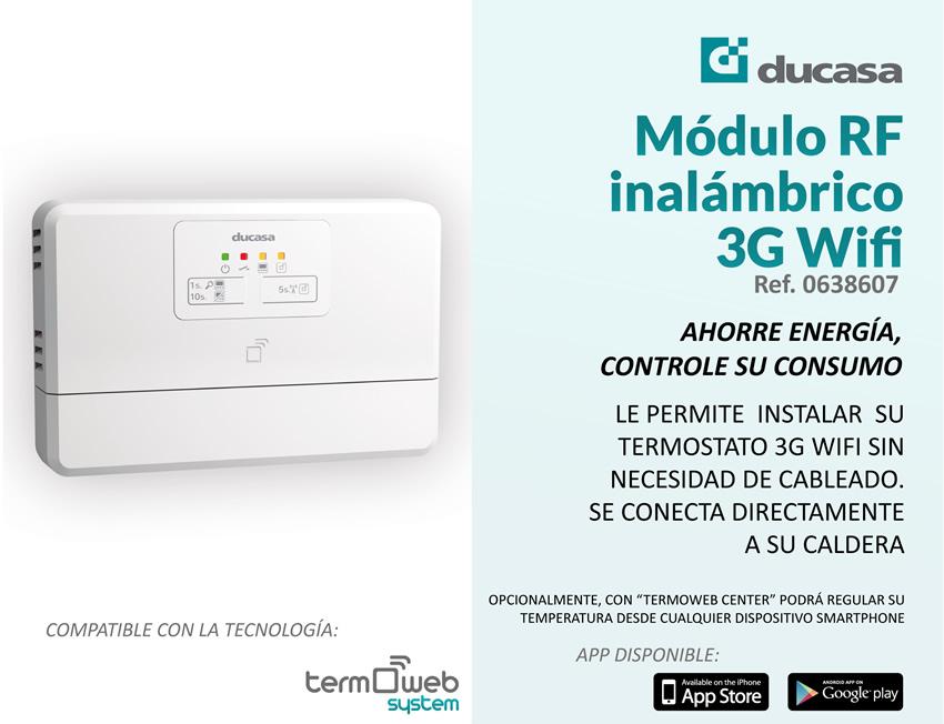 M dulo rf para actuar sobre caldera con termostato 3g wifi for Termostato caldera wifi