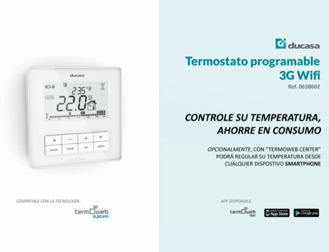 Termostato Celsius 3G WiFi